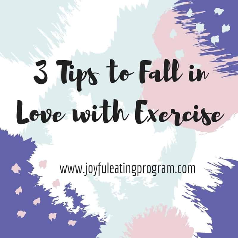 3 Tips to Fall in Love with Exercising