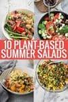 vegan summer salads