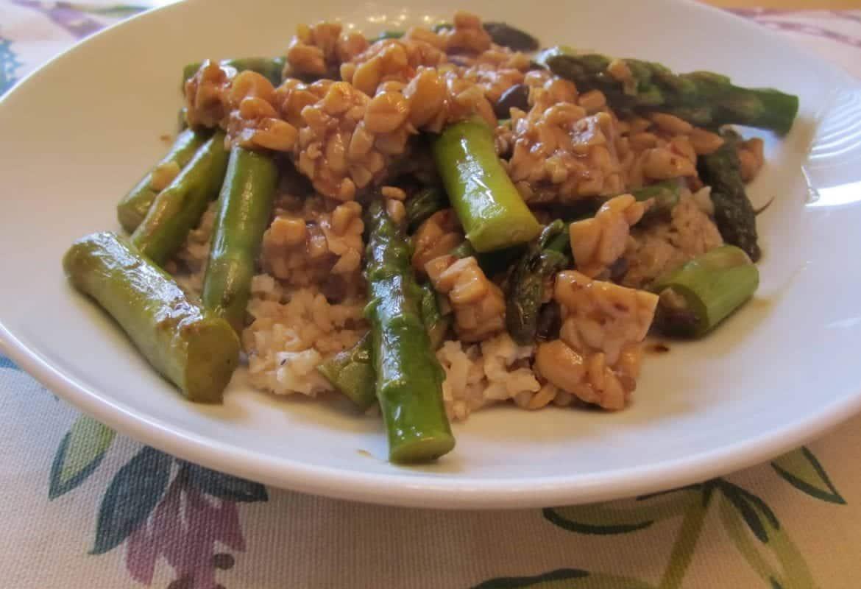 Asparagus in Black Bean Sauce