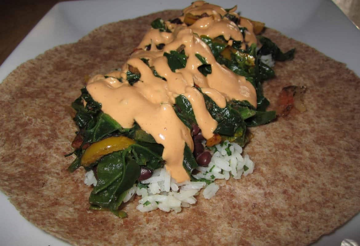 Cuban Wrap with Cheesy Chipotle Sauce
