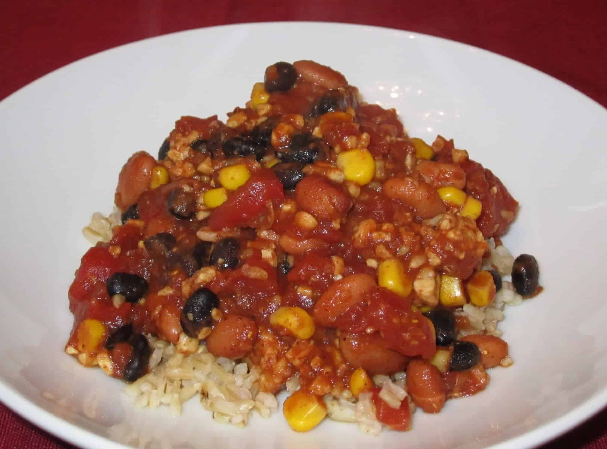 Tempeh Chili: My favorite weeknight meal