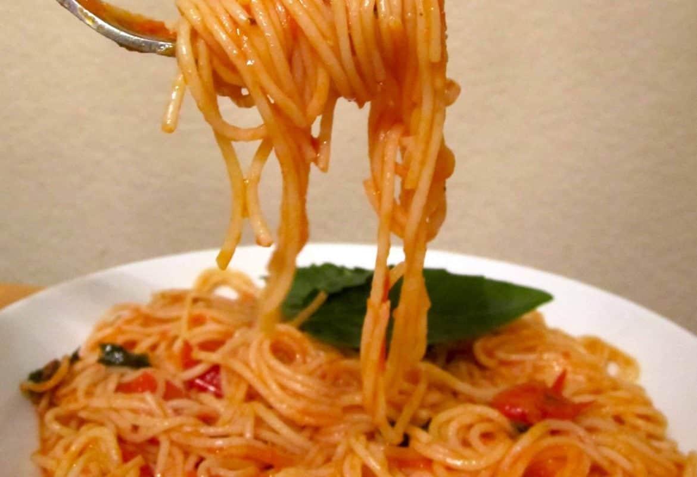 Perfect Fresh Tomato Basil Sauce
