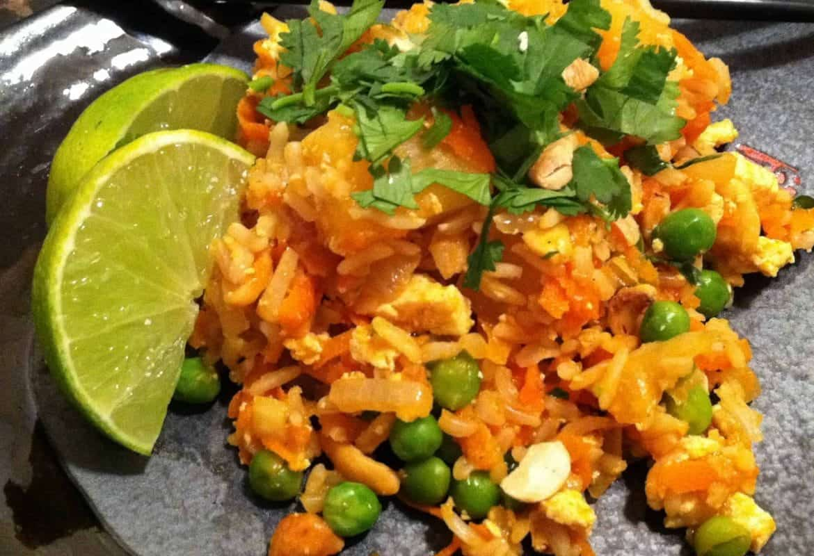 Thai Coconut-Pineapple Fried Rice