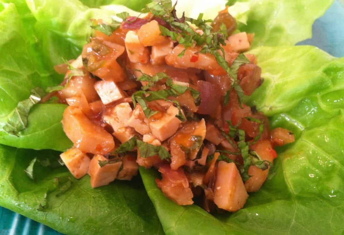 Spicy Lettuce Cups