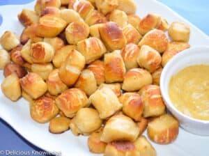 homemade vegan pretzel bites