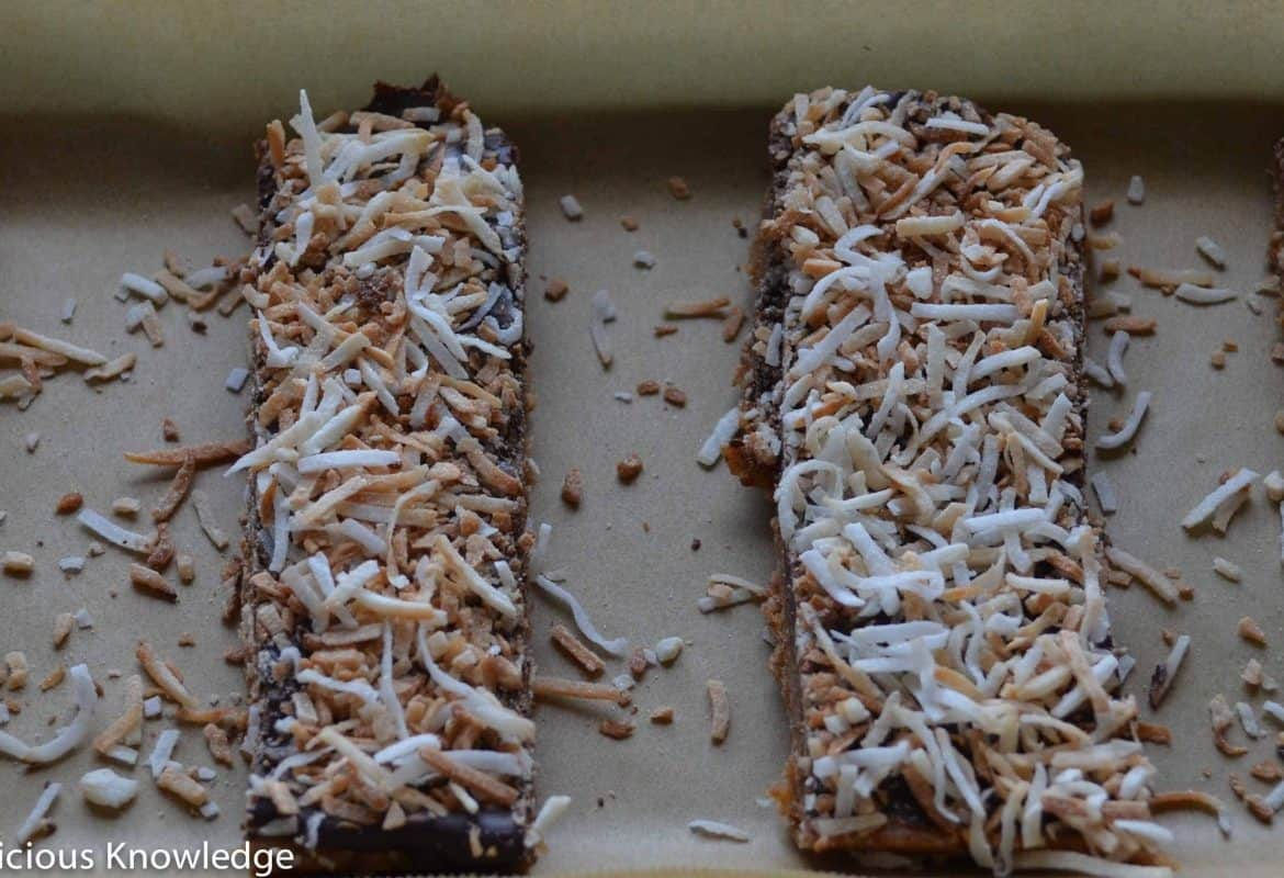 Girl Scout Cookie Week: Chewy Samoa Bars