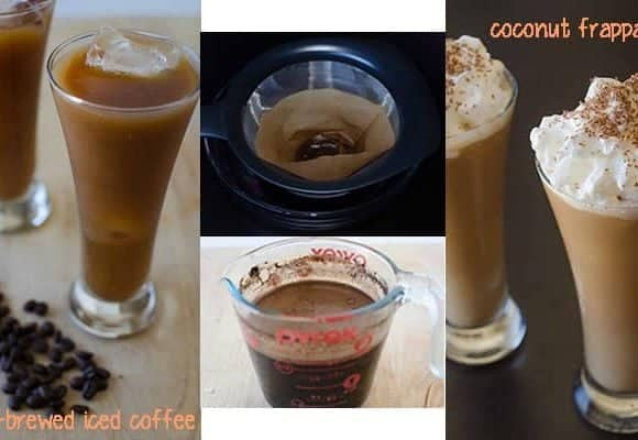 Cold- Brewed Coffee & Coconut Frappaccino