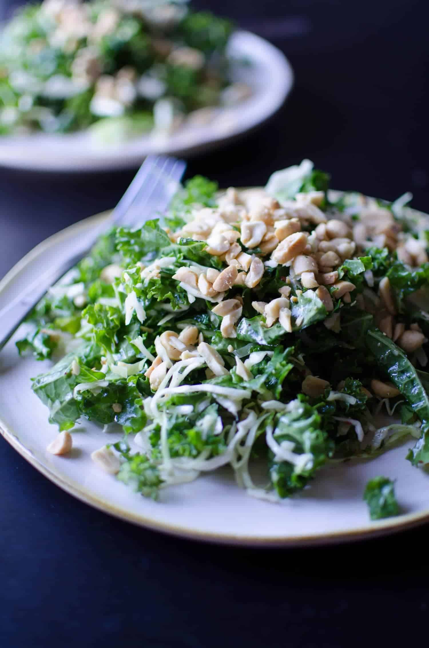 Cabbage And Lime Salad With Roasted Peanuts Recipes — Dishmaps