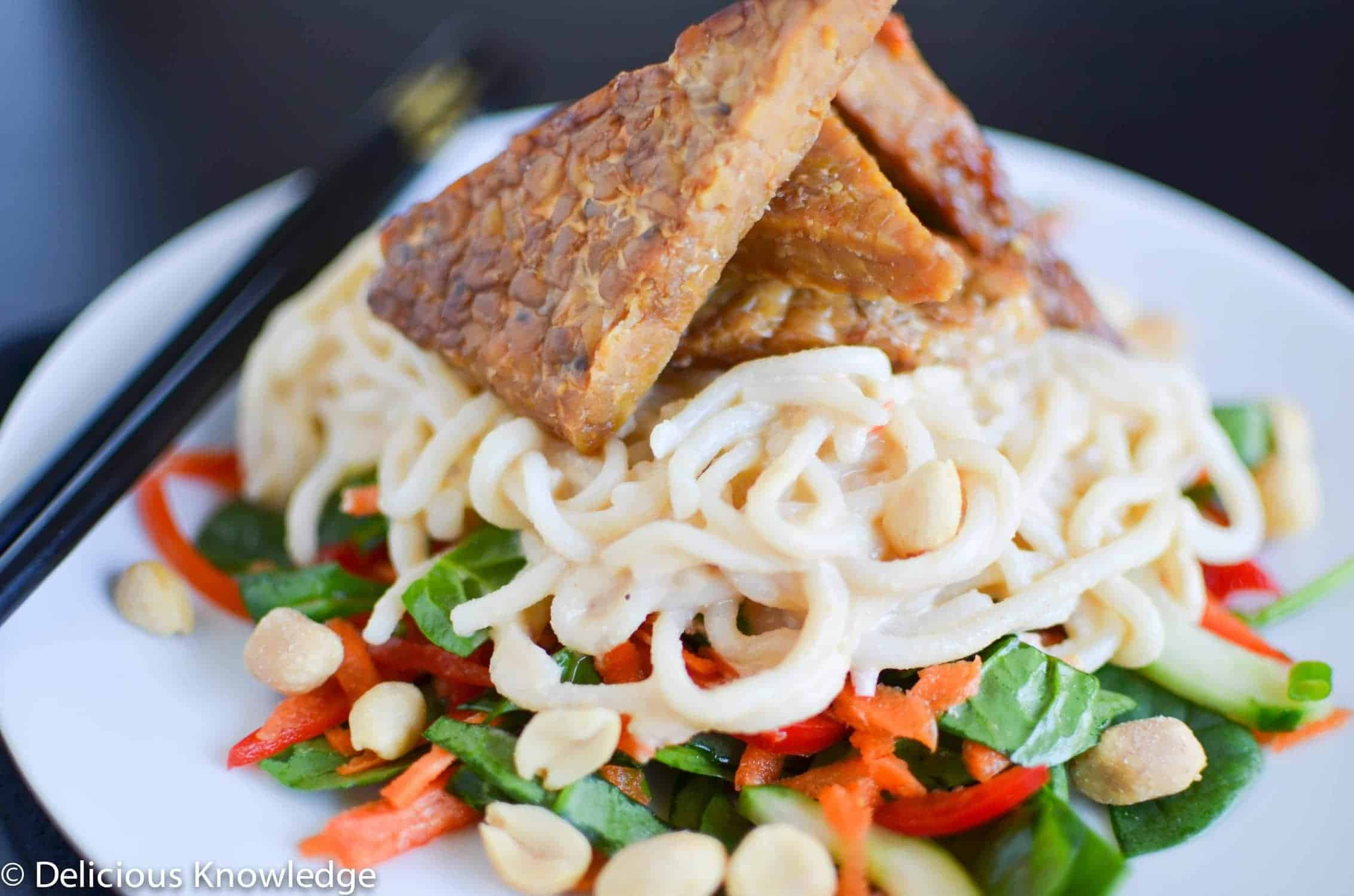 Maple-Peanut Noodle Salad