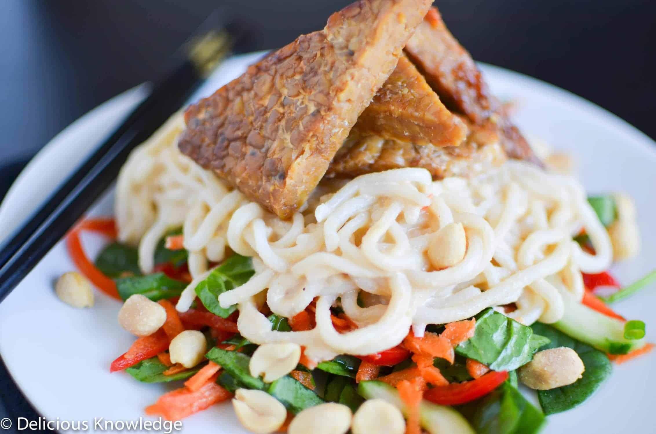 Maple-Peanut Noodle Salad