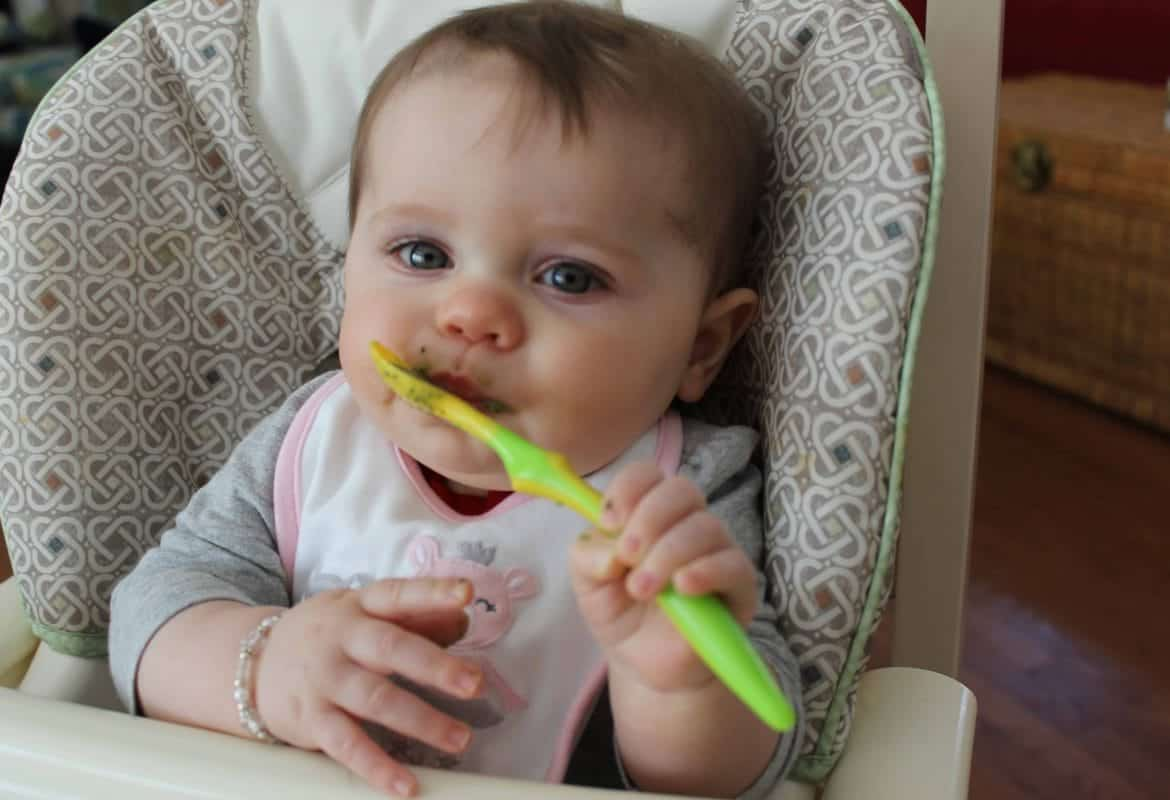Raising a Healthy Baby: Real Food & Rice Cereal