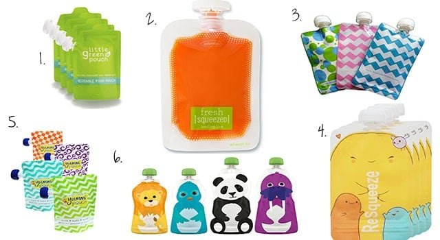 pbaby food pouches ouches