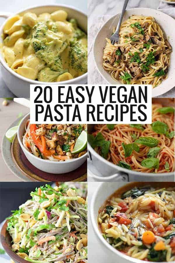 easy vegan pasta recipes