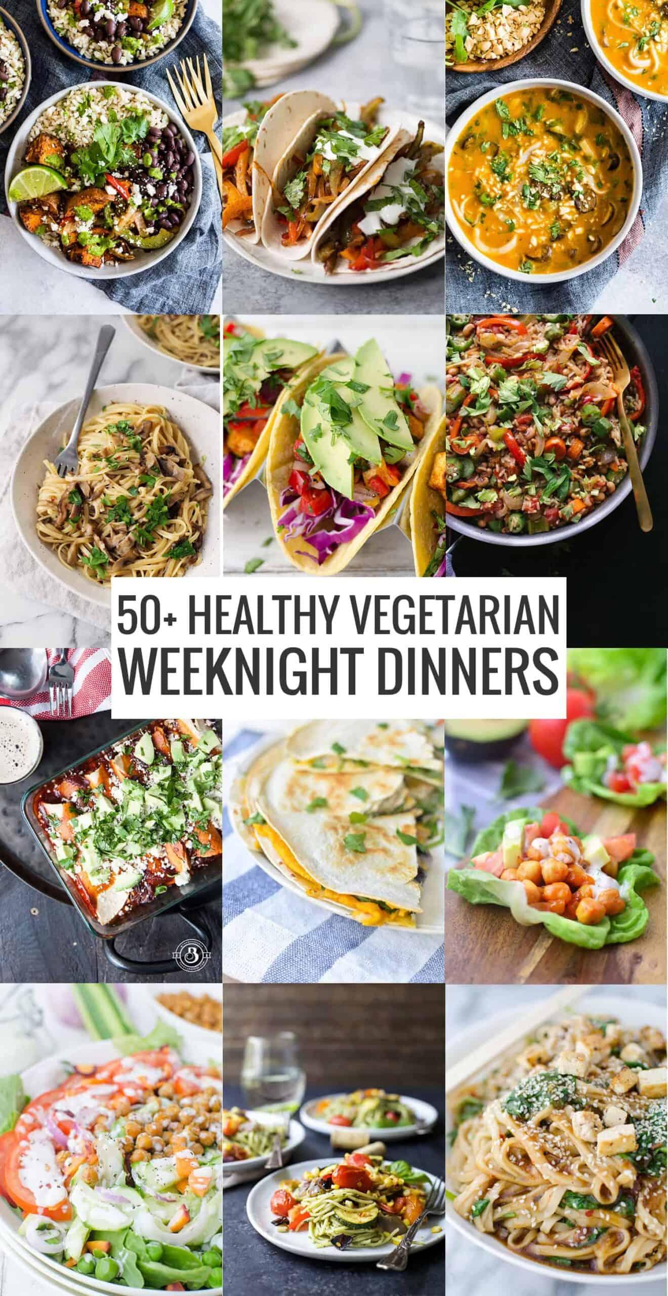 50 Healthy Vegetarian Meals Delish Knowledge