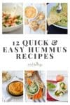 hummus recipes pin