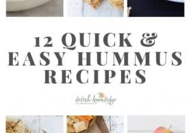 12 Quick and Easy Hummus Recipes