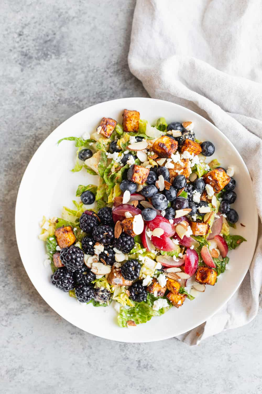 rainbow berry salad