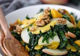 Autumn Squash, Kale and Apple Salad
