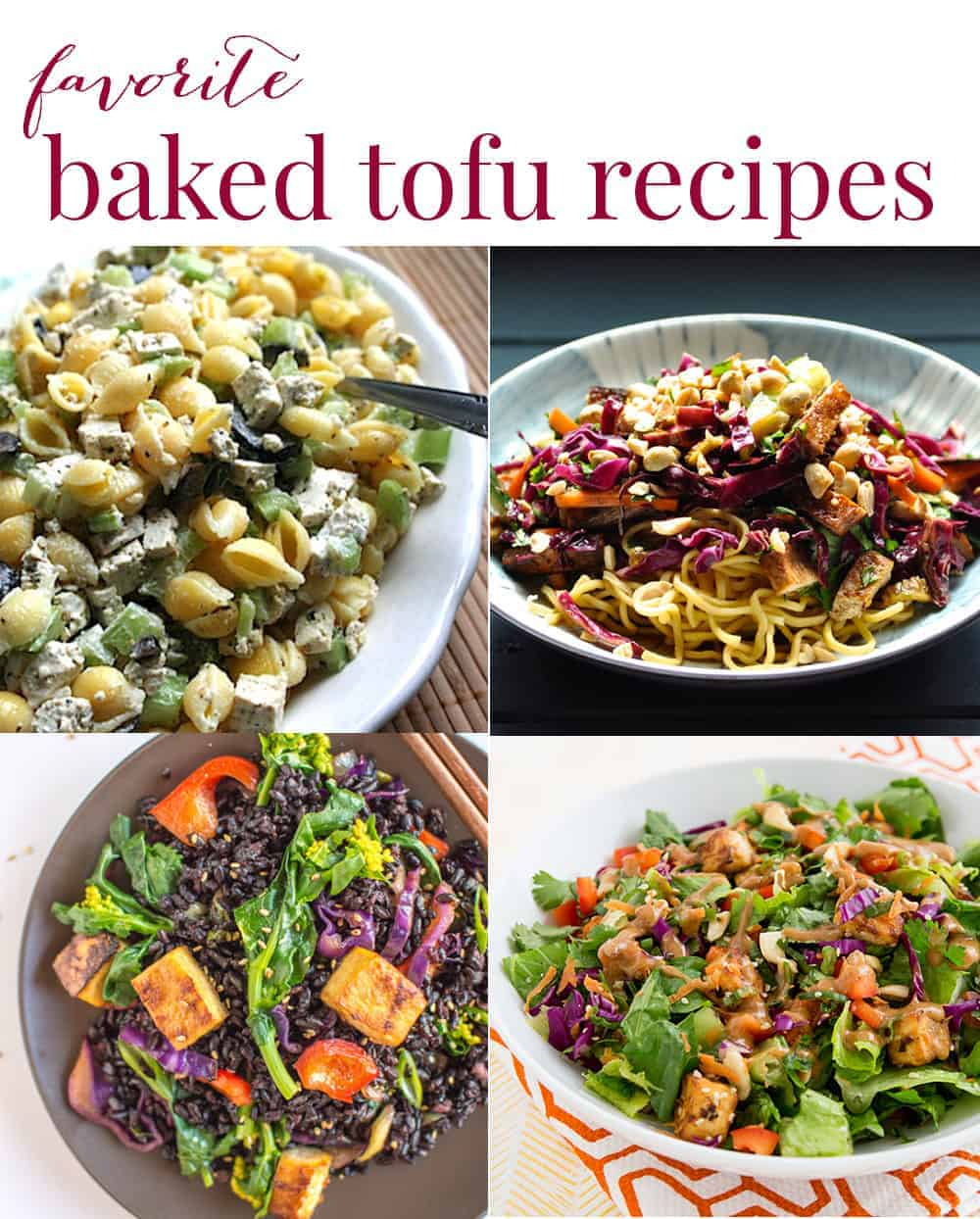 favorite baked tofu recipes