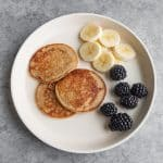 3 ingredient baby led weaning pancakes