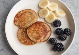 Baby-Led Weaning Banana Pancakes
