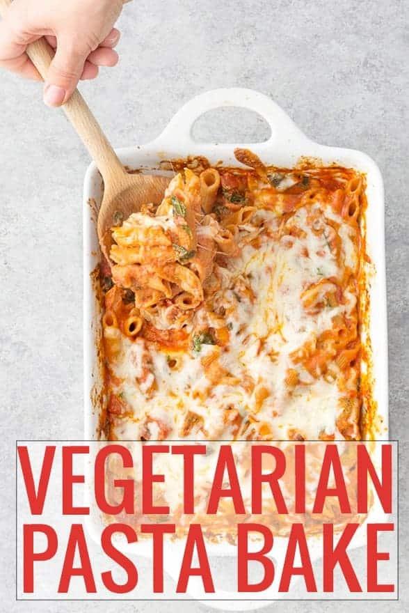 vegetarian pasta bake