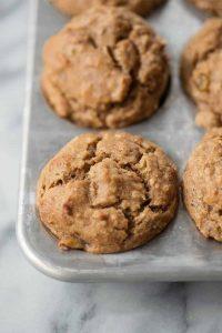 naturally sweetened breakfast muffins