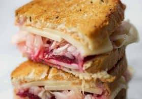 Vegetarian Beet Reuben Sandwich + Giveaway