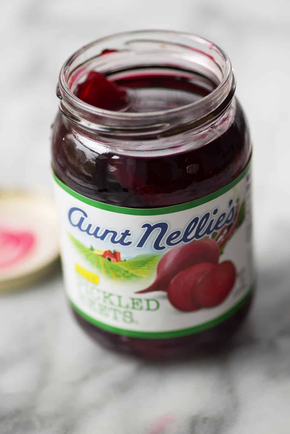 can of pickled beets