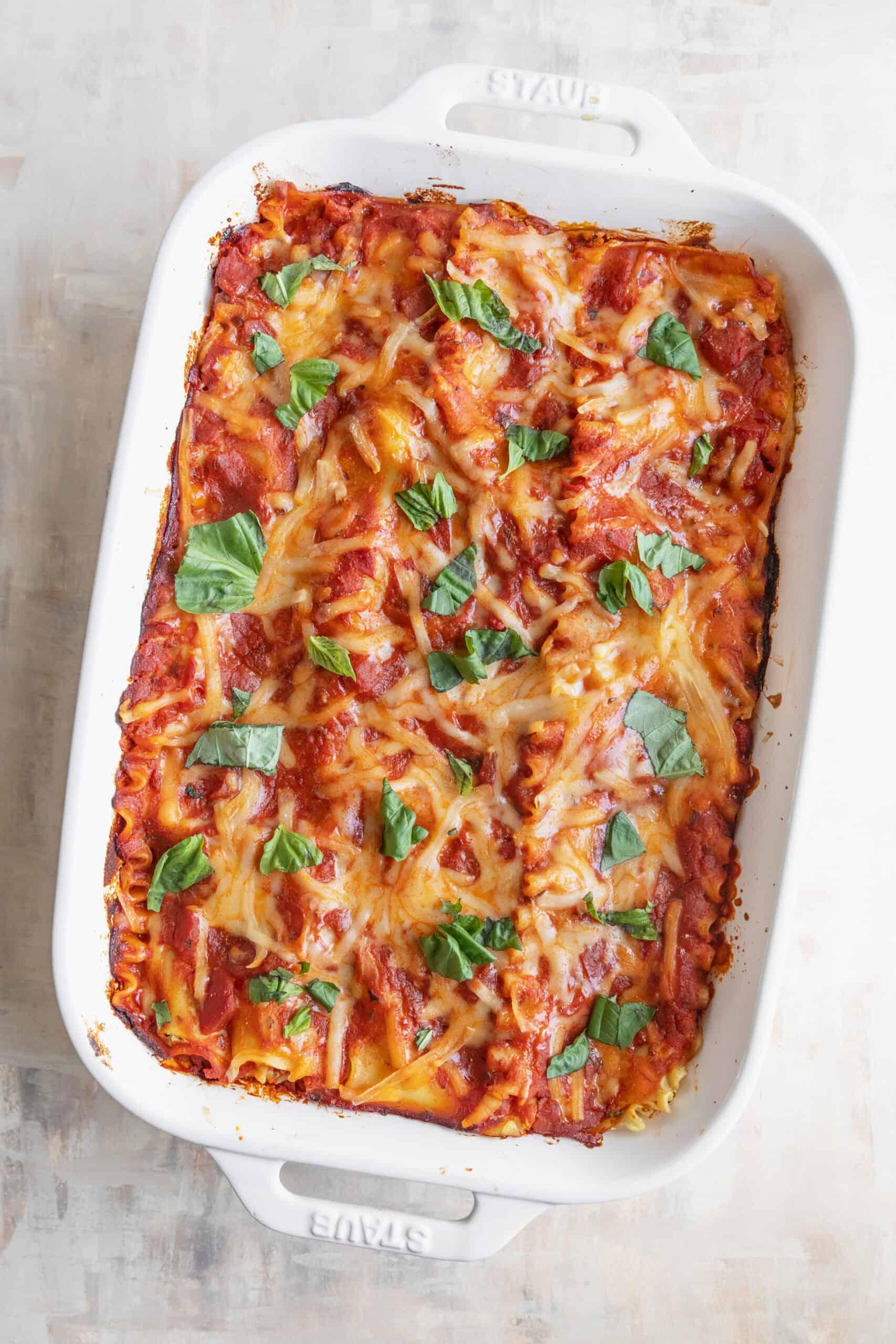 The best vegan lasagna recipe