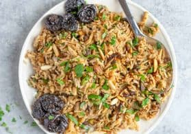 California Prune and Nut Rice Pilaf