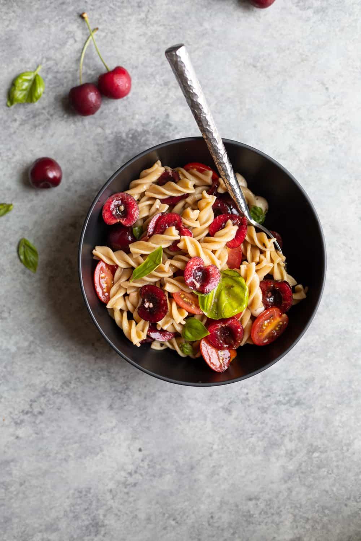 Cherry Caprese Pasta