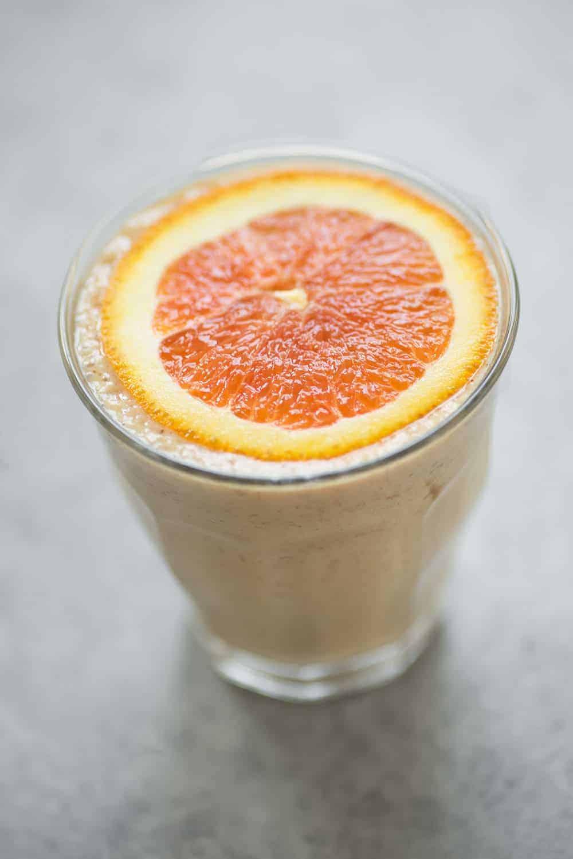 vegan smoothie creamsicle date shake