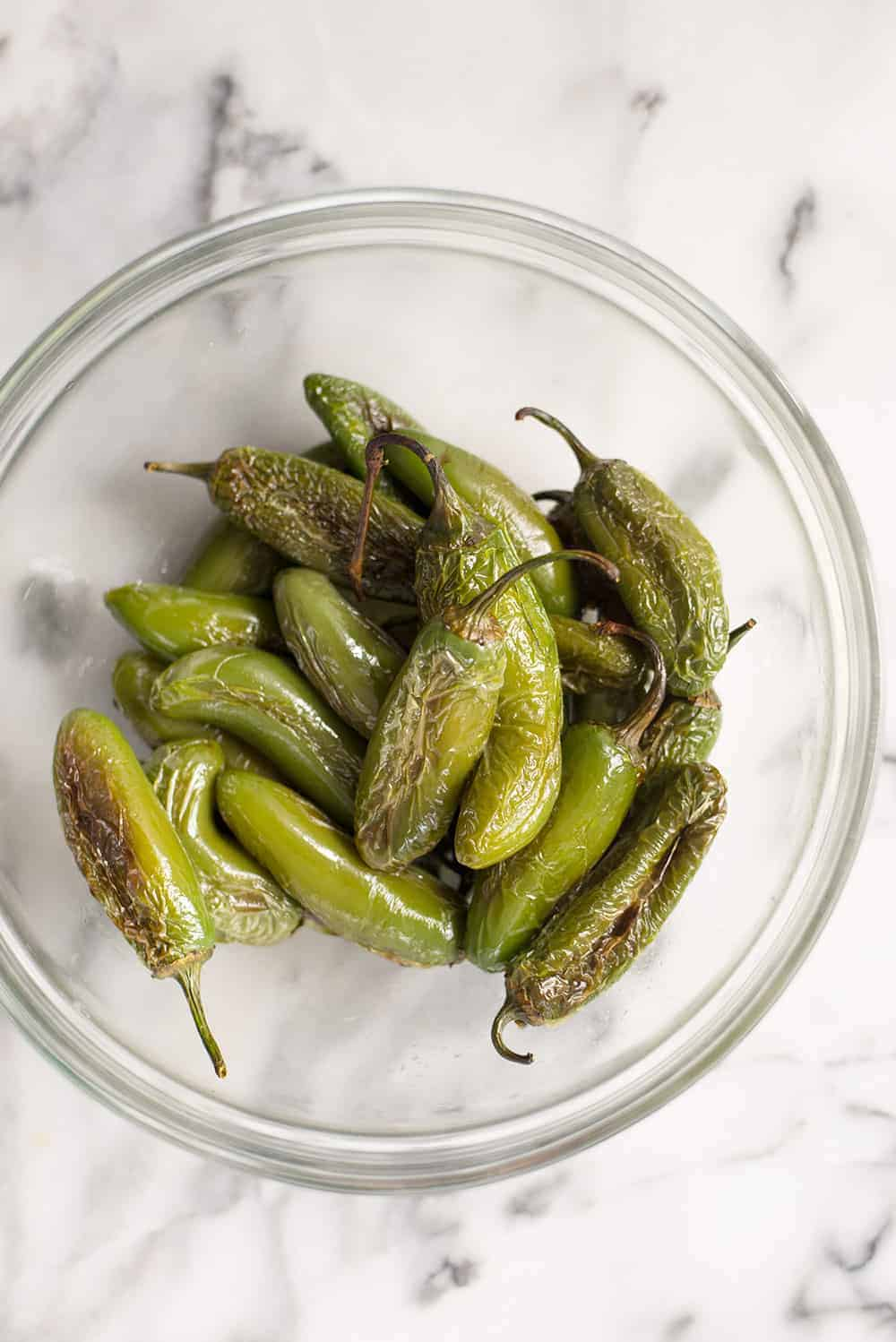 roasted jalapenos for salsa