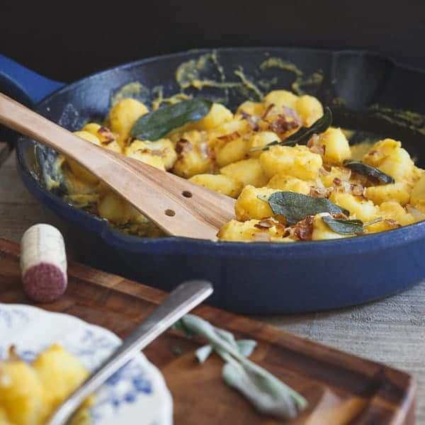 THIS BUTTERNUT WHITE BEAN GNOCCHI IS A CREAMY, SAGE INFUSED, DECADENT VEGETARIAN MEAL THAT ACTUALLY PACKS A HEALTHY PUNCH. PERFECT FOR MEATLESS MONDAYS.
