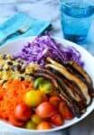 rainbow millet salad