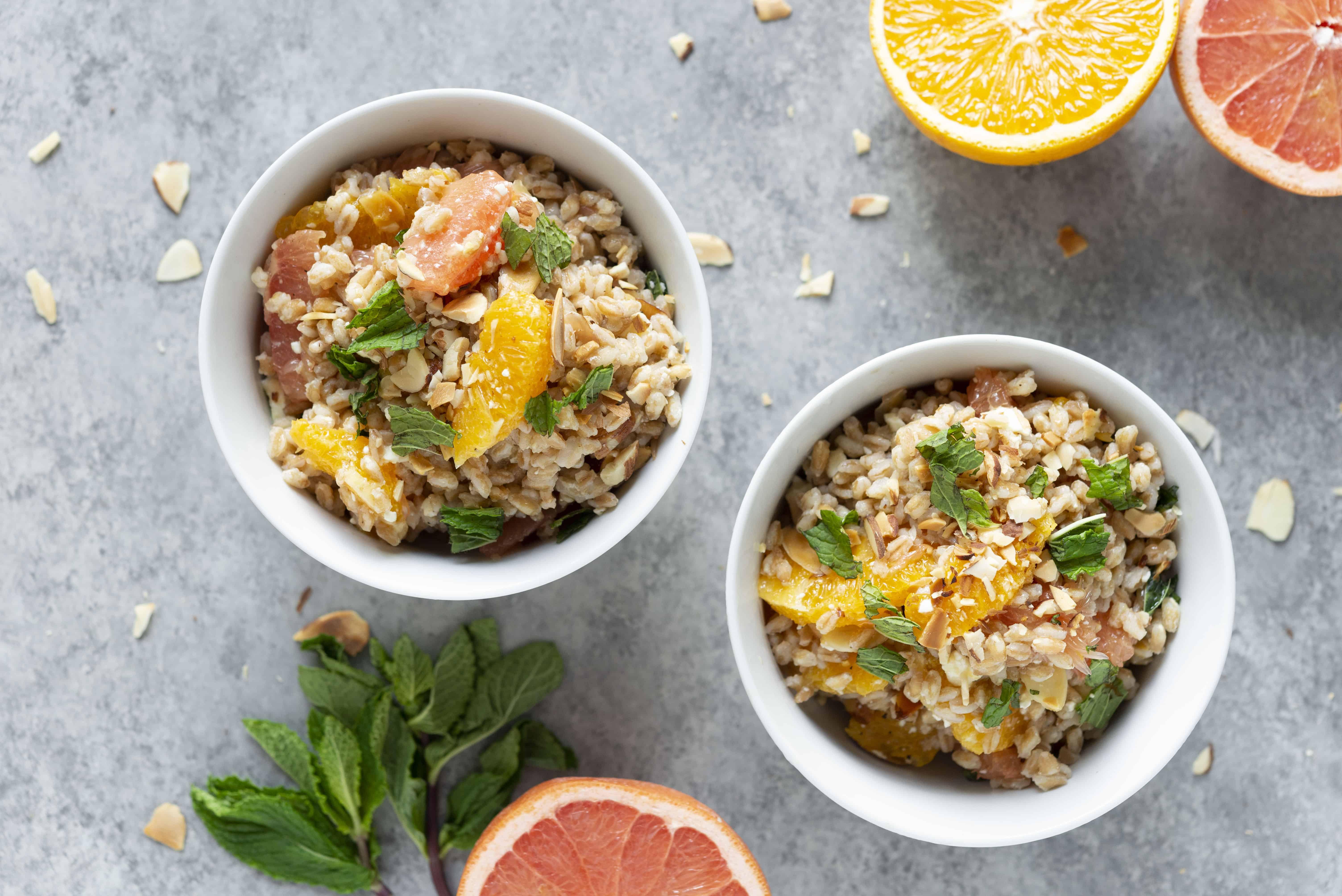 Farro and Citrus Salad Recipe