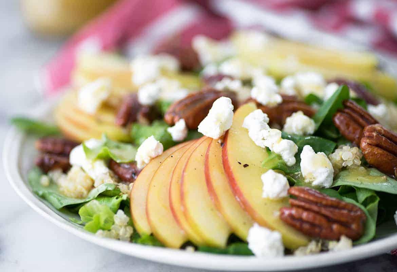 Vegetarian Fall Harvest Salad