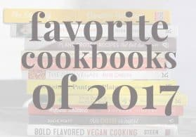 Favorite Cookbooks of 2017