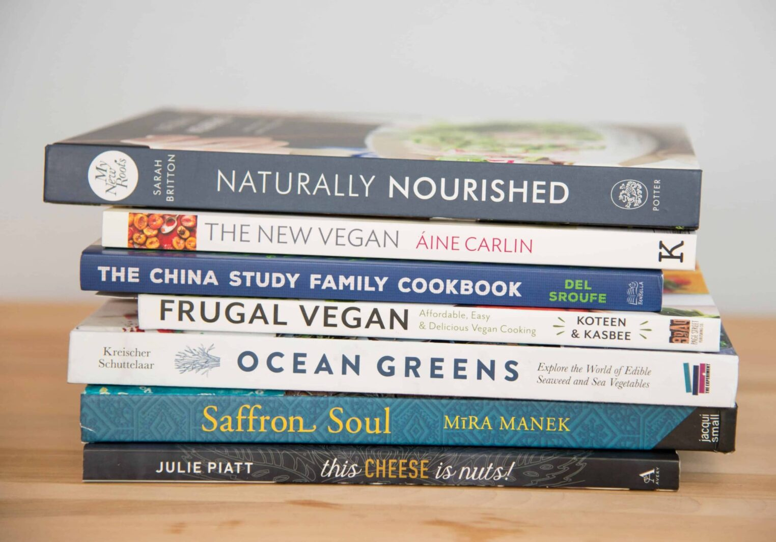 Favorite vegan and vegetarian cookbooks from 2017!