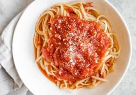 Simple Fresh Tomato Sauce