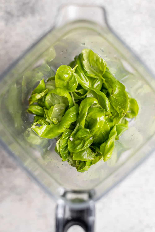 basil dressing for salad