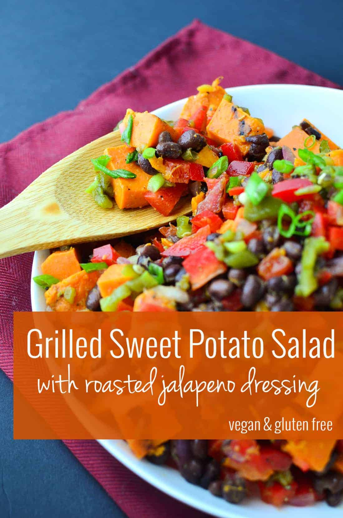 ... Sweet Potato Salad With Chutney Vinaigrette Recipe — Dishmaps