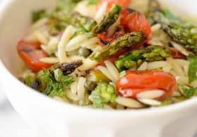 Grilled Vegetable Pasta Salad + Video