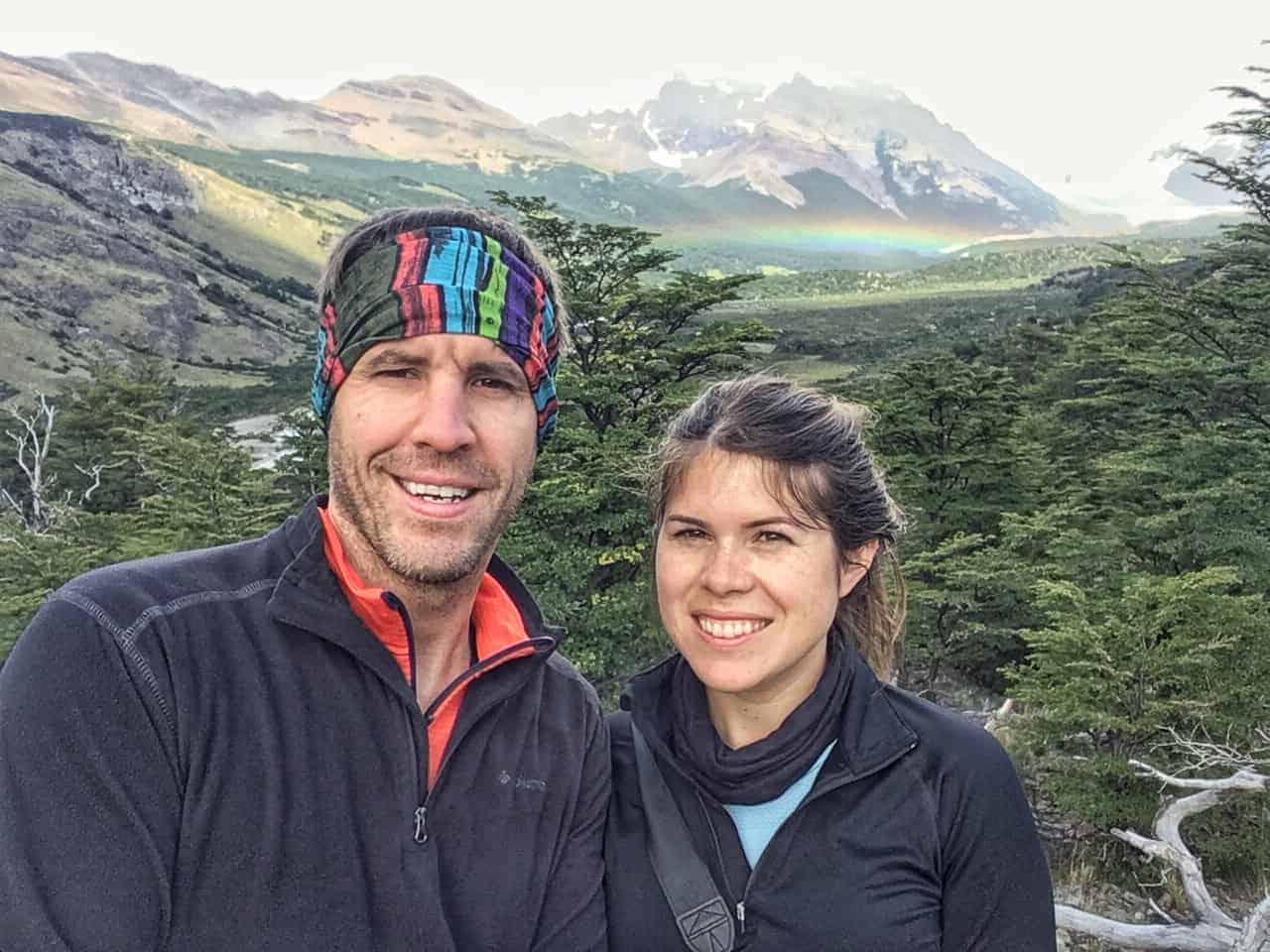 hiking in el chalten, argentina