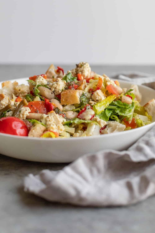 Vegan Italian Chopped Salad