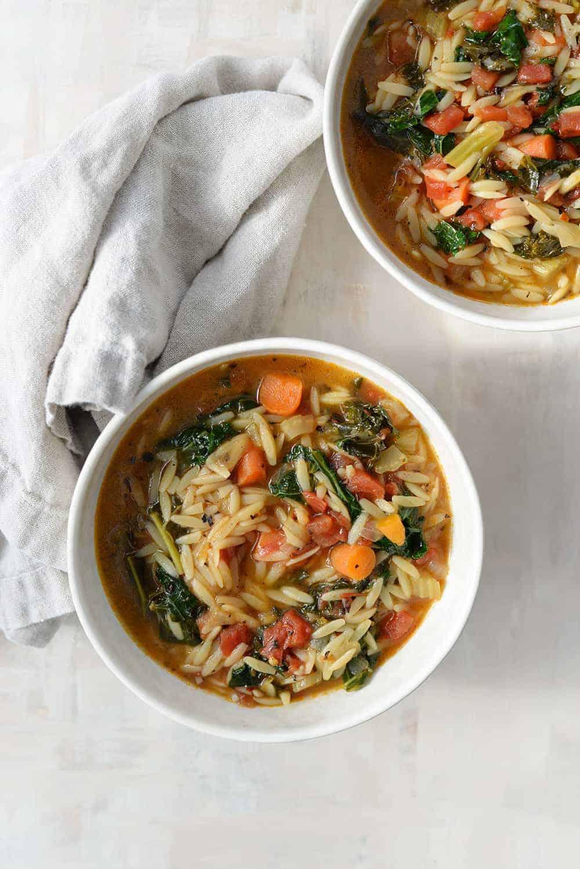 Tuscan Kale Soup Recipe