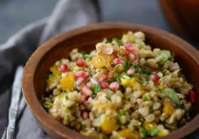 Jeweled Farro Salad