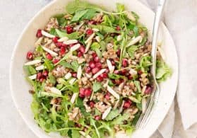 Lentil and Wild Rice Winter Salad