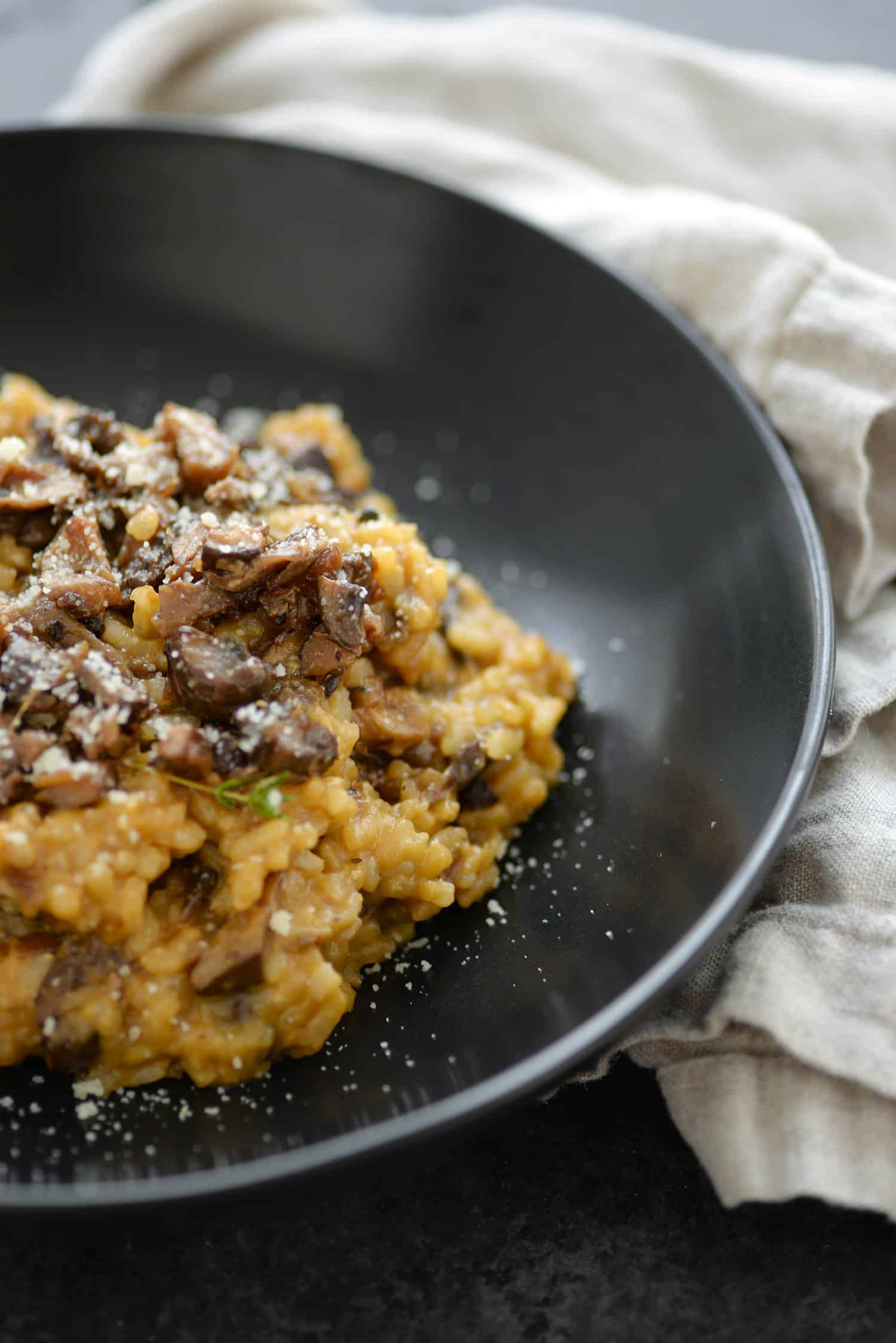 Wild Mushroom Risotto - Delish Knowledge